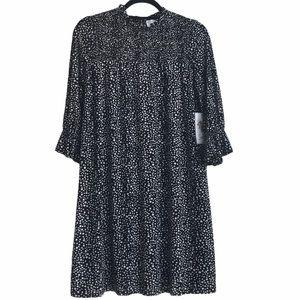 Siren Lily Smocked Polka Dot dress